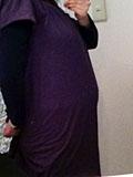 妊娠9ヶ月のお腹