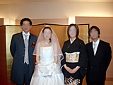 妹の結婚式 お開き