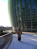 国立新美術館 外壁